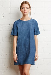 Forever 21 Denim Shift Dress