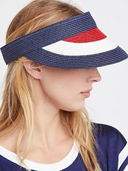 Free People Americana Color Block Visor By