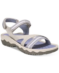Bare Traps Tipper Outdoor Sandals Women's Shoes Grey Multi