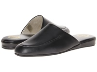 L.B. Evans Duke Scuff Black Leather Men's Slippers
