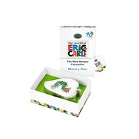 The Very Hungry Caterpillar Silver Caterpillar Money Box