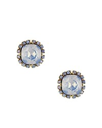 Sparkling Sage Crystal Halo Stud Earrings Compare At 63 Gold Blue