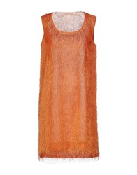 Maesta Dresses Short Dresses Women Orange