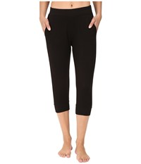 Ugg Hadley Cropped Jogger Pants Black Women's Casual Pants