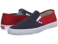 Vans Slip On Sf 2 Tone Navy Red Men's Shoes Black