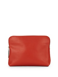3.1 Phillip Lim 31 Minute Leather Cosmetic Zip Case Henna
