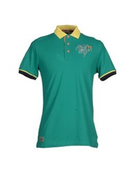 Marville Polo Shirts Emerald Green