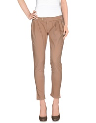 Manila Grace Casual Pants Camel