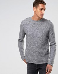 Bellfield Felt Sweatshirt Light Grey
