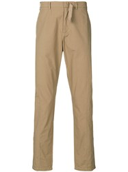 N 21 No21 Straight Leg Trousers Nude And Neutrals