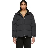 Burberry Black Down Plymton Jacket