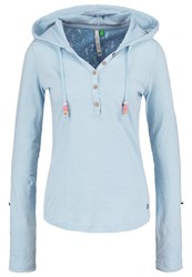 Ragwear Drop Long Sleeved Top Light Blue