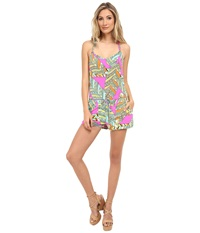 Trina Turk Tuvalu Romper Flamingo Women's Jumpsuit And Rompers One Piece Pink