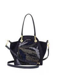 Maiyet Peyton Mini Leather Tote Navy