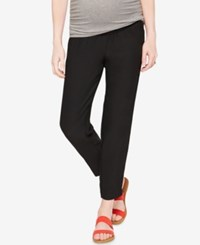 A Pea In The Pod Maternity Slim Fit Pants Black