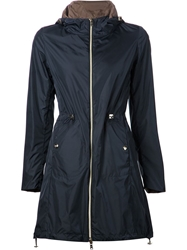 Herno Drawstring Waist Jacket Blue