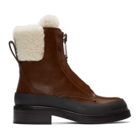 Chloe Brown Roy Ankle Boots