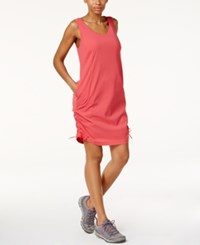 Columbia Anytime Casual Omni Shield Dress Sunset Red