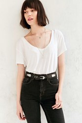 Urban Outfitters Susannah Western Belt Black