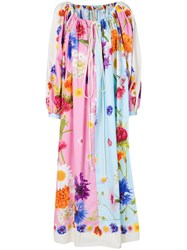 Natasha Zinko Oversized Floral Dress Multicolour