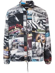 Adaptation Photographic Print Lightweight Jacket Multicolour