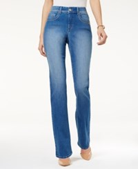 Style And Co Tummy Control Black Wash Straight Leg Jeans Only At Macy's Saint
