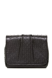 Lauren Merkin Mini Caroline Leather Shoulder Bag Black