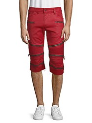 Robin's Jean The Show Moto Shorts Red