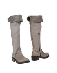 Sgn Giancarlo Paoli Footwear Boots Women Dove Grey