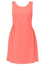 Teddy Smith Radia Jersey Dress Koralle Coral
