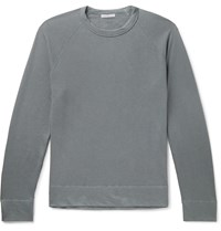James Perse Loopback Supima Cotton Jersey T Shirt Gray