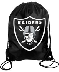 Forever Collectibles Oakland Raiders Big Logo Drawstring Bag Team Color
