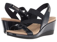 Anne Klein Peppina Navy Navy Synthetic Wedge Shoes