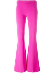 Moschino Flared Trousers Pink Purple