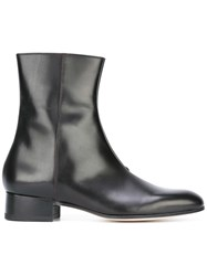 Paul Smith Zipped Ankle Boots Black