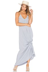 Michael Stars Slip Maxi Dress Gray
