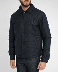 Gloverall Rally Small Collar Quilted Jacket