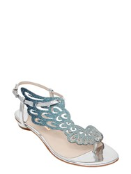Sophia Webster 10Mm Seraphina Glitter And Metallic Flats