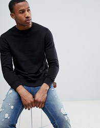 Pull And Bear Pullandbear Sweatshirt In Black