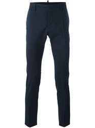 Dsquared2 Skinny Fit Trousers Blue