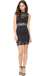 Nightcap Clothing Dixie Lace Cutout Dress Charcoal