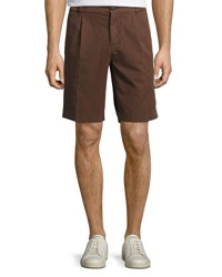 Brunello Cucinelli Cotton Twill Shorts Barley