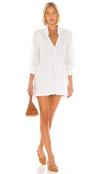 Cleobella X Revolve Elin Mini Dress In White. Ivory