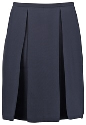Kiomi September Pleated Skirt Navy Blazer Dark Blue