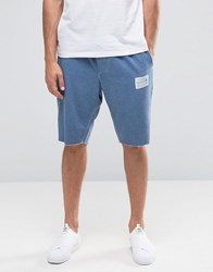 Religion Broadgate Shorts In Micro Blue Blue
