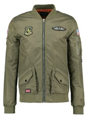 Blend Of America Bomber Jacket Dusty Green Oliv