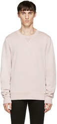 Blk Dnm Pink French Terry Pullover