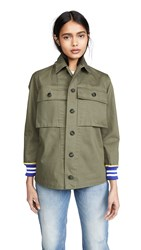 Harvey Faircloth Hybrid Field Jacket Olive