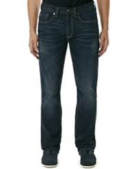 Buffalo David Bitton King X Stretch Slim Fit Bootcut Jeans Dark And Rigid