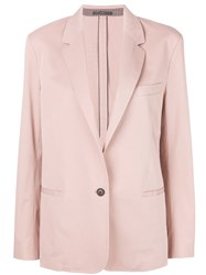 Paul Smith Tailored Suit Jacket Pink And Purple